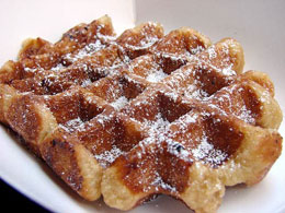 waffle-with-powdered-sugar