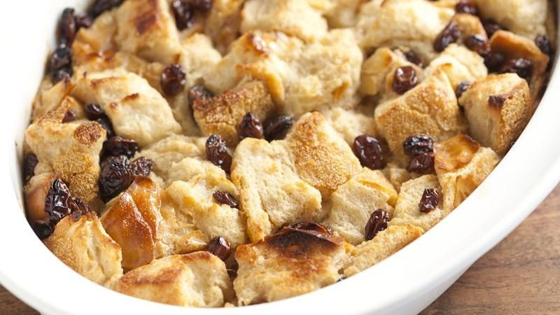 Old Fashioned Bread Pudding Without Raisins